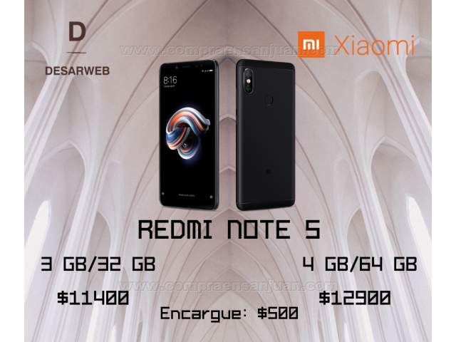 7f4faa765f9 ... Mi A2 Redmi Note 5 - Nuevo En Caja Sellado - Libre - Garantia. Previous