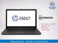 Notebook Hp 250 G7 - Intel Core I5 - 8gb Ram - 256gb Ssd - 15.6