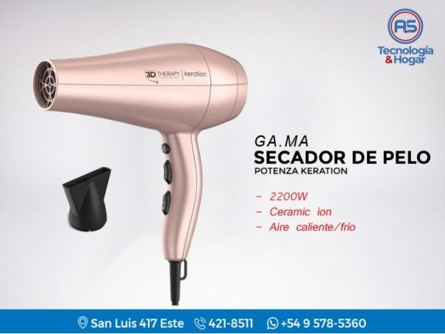 Secador De Cabello Gama Potenza - 2400w - Calor   Frio - Boquilla - Nuevos  - Garantia - Compraensanjuan.com efaf45deb5eb