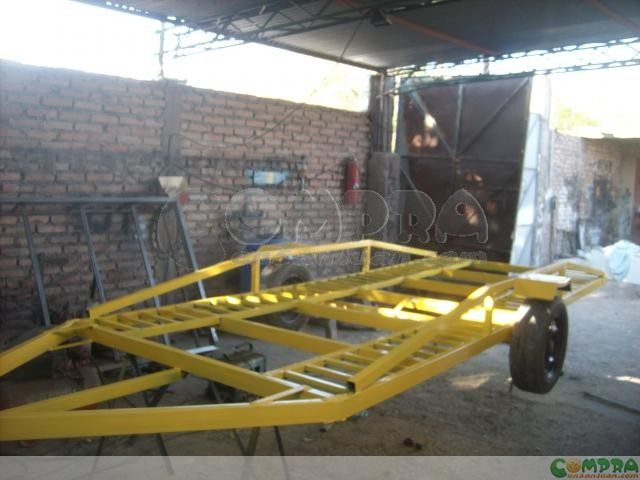 Carro 1 Eje Para Llevar Autos 1 80 X 4 R 13 Comprá En San Juan